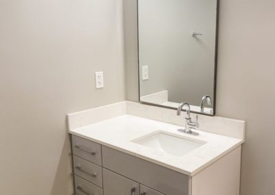 Bathroom with a Sink of an Apartment at Merchants Plaza